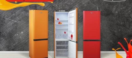 """Яркая палитра холодильников """"Бирюса"""""""